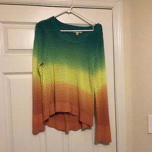 Billabong Rasta color sweater